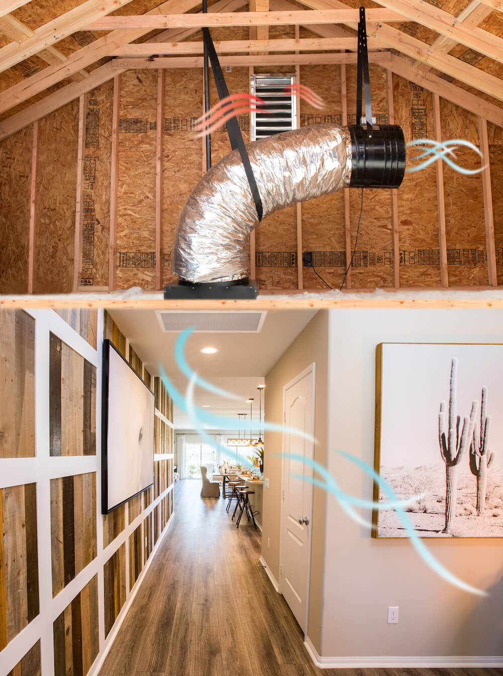 Indoor Air Quality with QuiteCool Whole House Fans